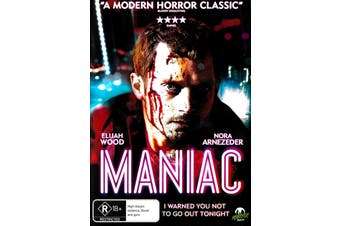 Maniac - Rare DVD Aus Stock New Region 4