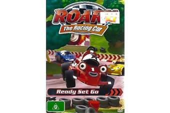 ROARY: THE RACING CAR READY SET GO -Kids DVD Rare Aus Stock New Region 4