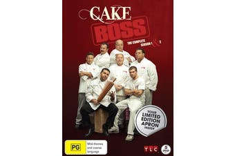 Cake Boss The Complete Season 1 & 2 Collection + Limited Edition Apron