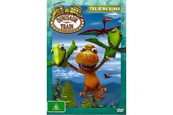 DINOSAUR TRAIN: THE WING KINGS -DVD Series Rare Aus Stock -Kids & Family New