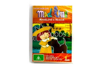 Madeline - Madeline's Rescue -Kids DVD Series Rare Aus Stock New