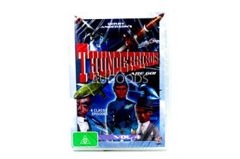 Thunderbirds Are Go - 4 Classic Episodes -DVD Series Comedy New