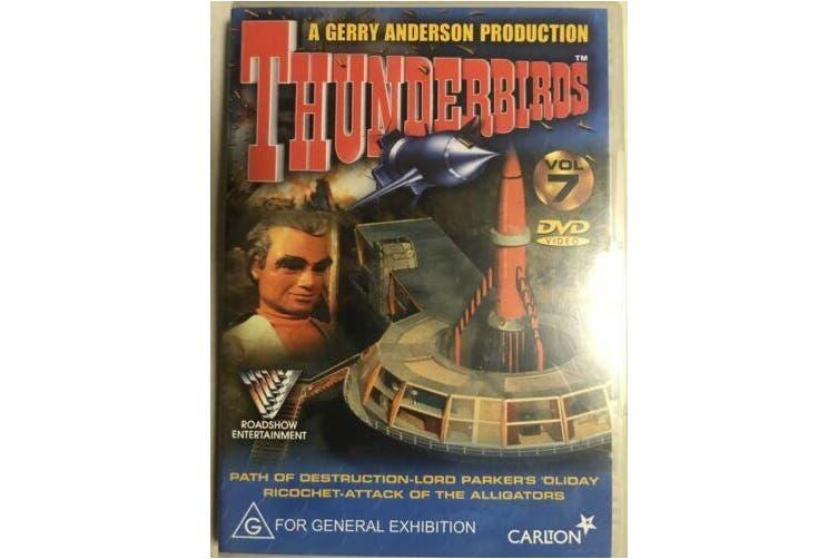 Thunderbirds : Vol 7 REGION 4 -DVD Comedy Series Rare Aus Stock New