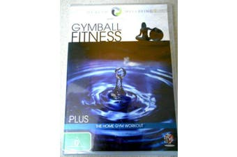 Gymball Fitness Home Gym Workout -Educational DVD Series Rare Aus Stock New