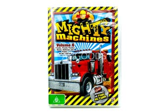 Mighty Machines Volume 6 -Educational DVD Series Rare Aus Stock New Region 4