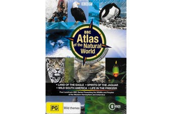BBC - ATLAS OF THE NATURAL WORLD - DVD Series Rare Aus Stock New Region 4