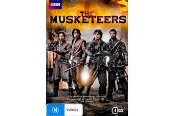THE MUSKETERS - DVD Series Rare Aus Stock New Region 4
