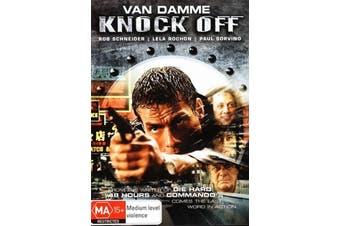 Knock Off - Rare DVD Aus Stock New Region 4