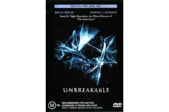 UNBREAKABLE Deluxe Edition - Rare DVD Aus Stock New Region 4