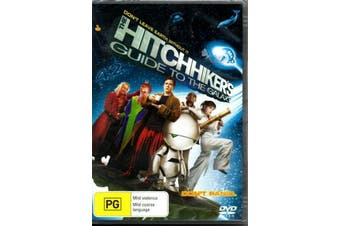 The Hitchhiker's Guide To The Galaxy - Region 1 -Comedy Region 1 DVD NEW