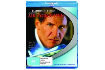 Air Force One - Rare Blu-Ray Aus Stock New Region B