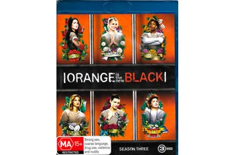 Orange is the New Black Season 3 -Blu-Ray Comedy Series Rare Aus Stock New