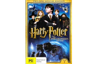 Harry Potter & The Philosophers Stone (Special Edition) - DVD New Region 4
