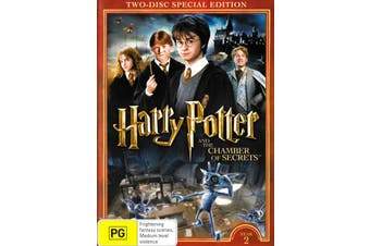 Harry Potter & The Chamber Of Secrets (Special Edition) -Kids DVD New Region 4