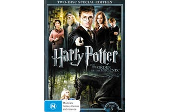 Harry Potter & The Order Of The Phoenix (Special Edition) -Kids DVD New