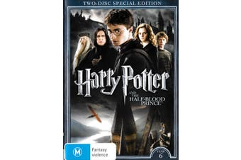 Harry Potter & The Half Blood Prince (Special Edition) -Kids DVD New Region 4