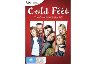 Cold Feet: Series 1 - 5 - DVD Series Rare Aus Stock New Region 4