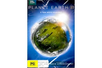 PLANET EARTH TWO - DVD Series Rare Aus Stock New Region 4