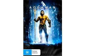 Aquaman - Rare DVD Aus Stock New Region 4