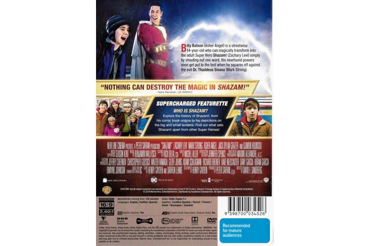 SHAZAM! - Region 4 Rare - Aussie Stock DVD NEW