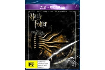 Harry Potter And The Chamber Of Secrets - Rare Blu-Ray Aus Stock New Region B