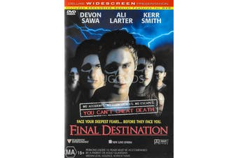 Final Destination - Region 4 Rare- Aus Stock DVD NEW