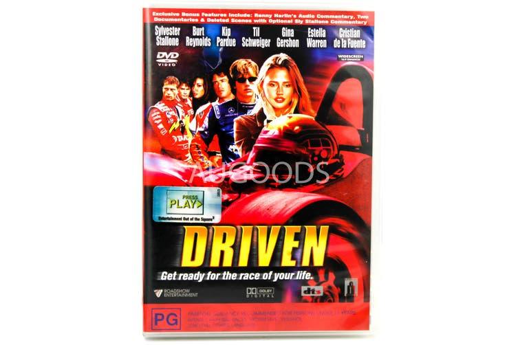 Driven - Rare- Aus Stock DVD NEW