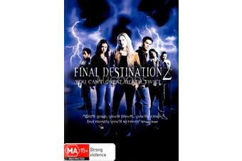 Final Destination 2 - Region 4 Rare- Aus Stock DVD NEW