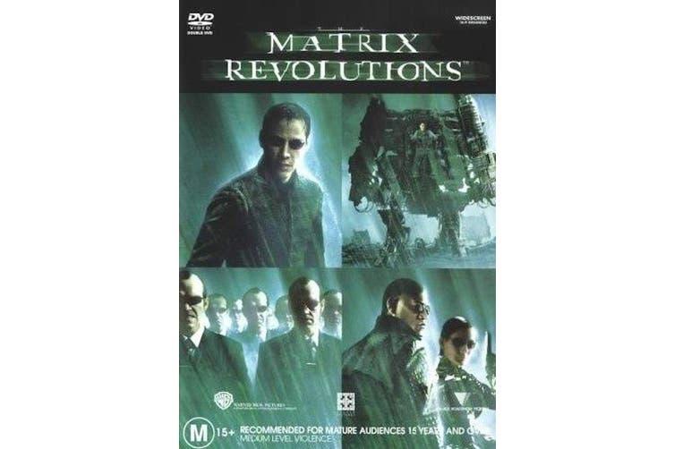 Matrix Revolutions - Rare DVD Aus Stock New