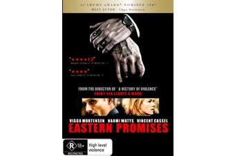 Eastern Promises - Rare DVD Aus Stock New Region 4