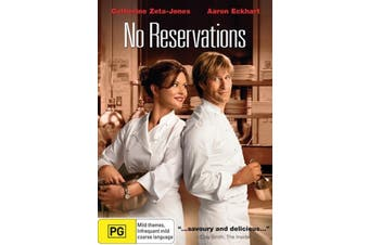 No Reservations -Rare DVD Aus Stock Comedy New Region 4
