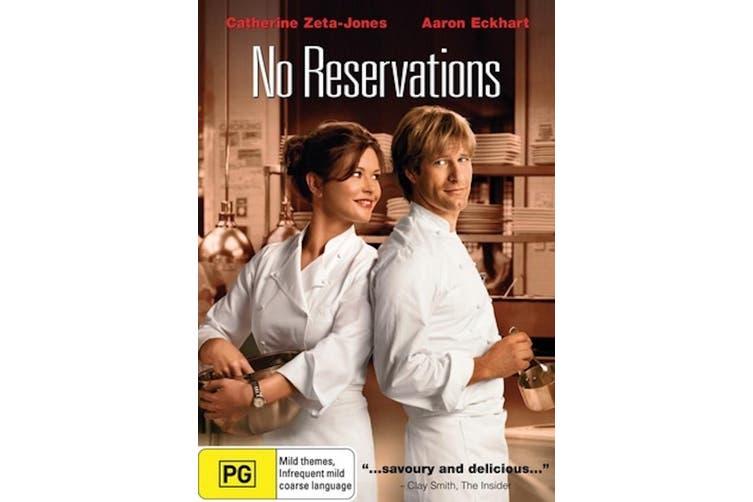 No Reservations -Rare DVD Aus Stock Comedy New Region 4