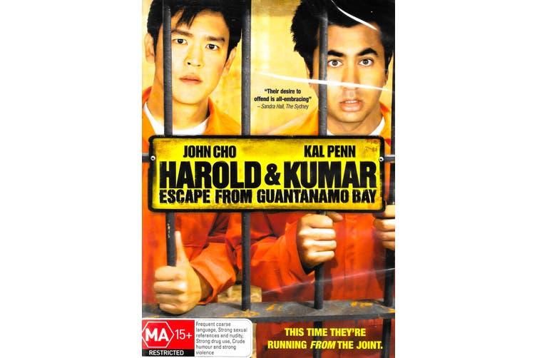 Harold & Kumar Escape from Guantanamo Bay -Rare DVD Aus Stock Comedy New
