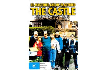 THE CASTLE - RE-MASTERED AND RE-PLASTERED -Rare DVD Aus Stock Comedy New