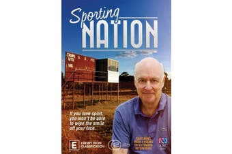 Sporting Nation - DVD Series Rare Aus Stock New Region 4