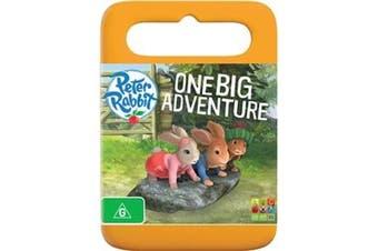 Peter Rabbit One Big Adventure -Rare DVD Aus Stock -Family New Region 4
