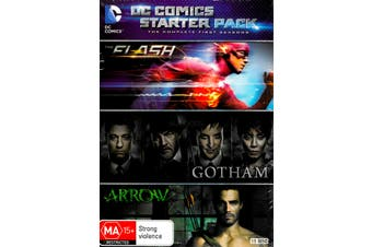 DC Comics Starter Pack The Complete First Season - DVD Series New Region 4
