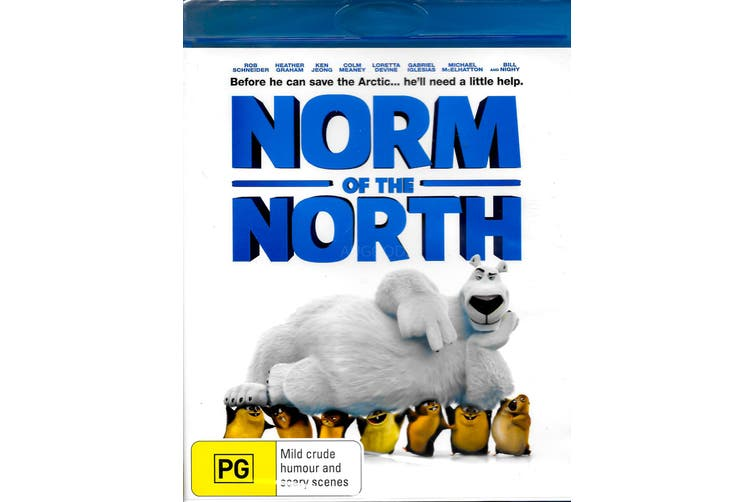 NORM OF THE NORTH - Rare Blu-Ray Aus Stock New Region B