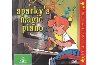 Sparky's Magic Piano (Full Length Feature) -Kids Rare- Aus Stock DVD NEW