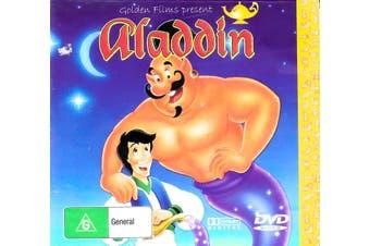 Aladdin -Kids Region All Rare- Aus Stock DVD NEW