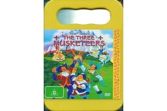 The Three Musketeers -Kids Series Rare- Aus Stock DVD NEW