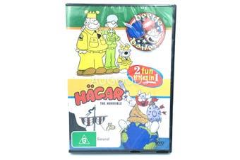 Beetle Bailey Hagar the Horrible Kid's ChildrenAnimated -Kids DVD Series New