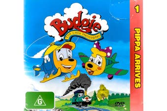 Budgie the Little Helicopter- Early Learning Cartoon -Kids DVD Series New