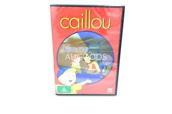 Cailou lights out Kid's Children children's -Kids Series DVD NEW