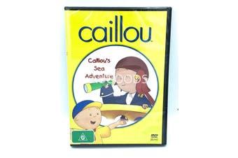 Caillous Sea Adventure -Kids Series Region 4 Rare- Aus Stock DVD NEW