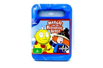Maggie and the Ferocious Beast -Kids Series Rare- Aus Stock DVD NEW