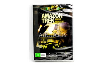 Amazon Trek - In Search of Vanishing Secrets -Educational DVD Series New