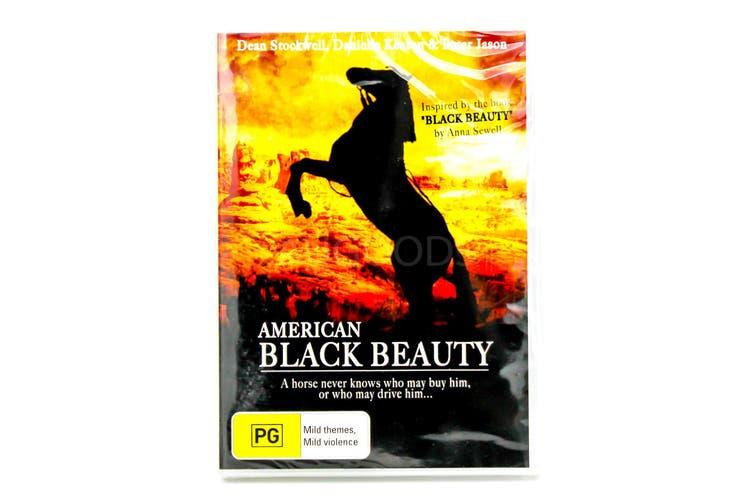 American Black Beauty -Family Region 4 Rare- Aus Stock DVD NEW