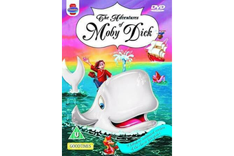 The Adventures of Moby Dick Animated -Kids DVD Series Rare Aus Stock New