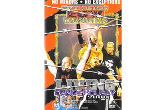ECW Living Dangerously 2000 - DVD Series Rare Aus Stock New